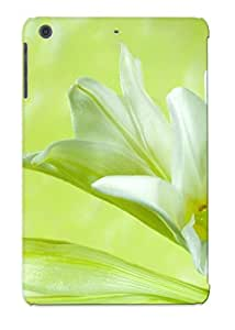 New Style Tpu Mini/mini 2 Protective Case Cover/ Ipad Case - White Lily