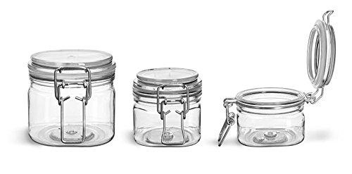 wire bale jars plastic - 1
