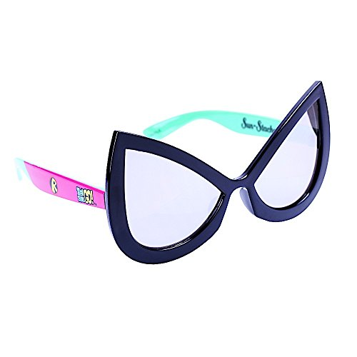 Costume Sunglasses JTeam Titans  Robin Sun-Staches Party Favors UV400 -