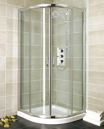 Cuarto de baño cuadrante ducha cubículo 800 mm: Amazon.es: Hogar