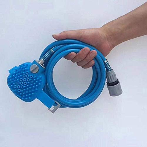 UltraZhyyne - New Pet Bathing Tool Comfortable Massager Shower Tool Cleaning Washing Bath Sprayers Dog Brush Pet Supplies[] ()