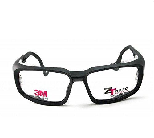 3M ZT100 Prescription Ready Safety Goggles- Lens Size 62/15, Black - With Glasses Prescription Construction