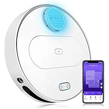 360 Robot Vacuum Cleaner with Laser Navigating, Multiple-Floor Mapping, Sweep, Mop, Auto-Recharging, HEPA Filter, App Control for Hard Surface Floors and ...