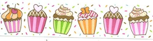 Cute Grosgrain Cupcake Ribbon - 1.5