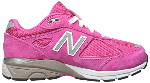New Balance KJ990V4 Grade Running Shoe (Big Kid), Pink/Pink, 5 W US Big Kid