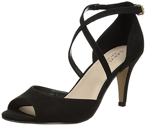 Heels Toe Open Koko Black Black Carvela Women's tqI6E