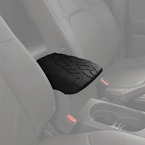 (2005-2017 Nissan Frontier Tire Tread ArmPad - Center Console Cover - Armrest Cushion)