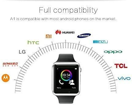 Smart Watch C01 Choigle Bluetooth elegante reloj muñeca reloj teléfono adecuado para móvil(Todos funcionse) Android, para Iphone (funciones parciales)