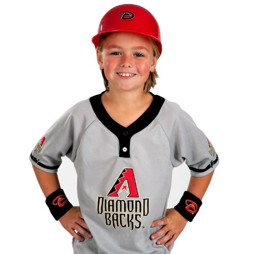 Dodgers Fan Costume (Franklin Sports MLB Arizona Diamondbacks Youth Team Uniform Set)