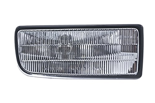 Hella Fog Light Lens (HELLA H12264001 BMW 3 Series E36 Passenger Side Replacement Fog Light Lens)