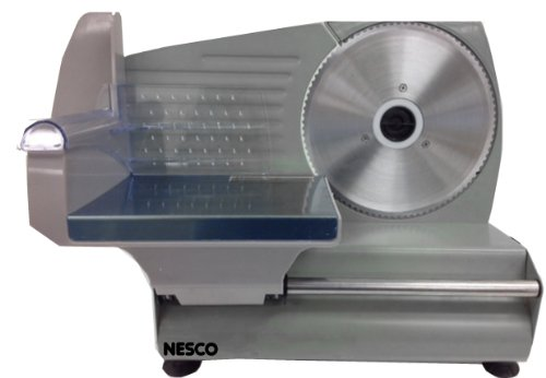 (Nesco FS-160 Food Slicer, 180-watt, Stainless Steel/Black)