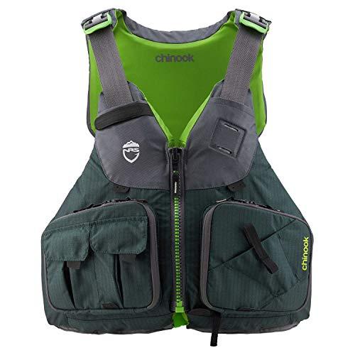 (NRS Chinook Fishing Kayak Lifejacket (PFD)-Bayberry-L/XL)