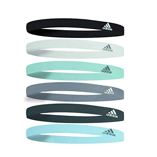 adidas Women's 6-Pack Hair Bands, Multicolor