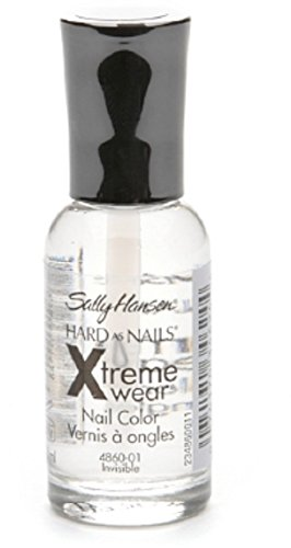 Sally Hansen Hard as Nails Xtreme Wear, Invisible 0.4 oz (Pack of ()