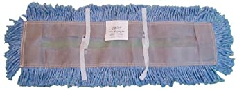 Zephyr Blue Blended Yarn Disposable Dust Mop Head (Pack of 6)