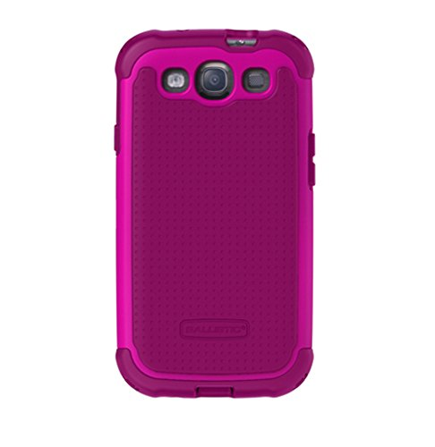 Ballistic BLCSG0930M065 Case for Samsung Galaxy SIII SG - 1 Pack - Retail Packaging - Ruby Wine ()