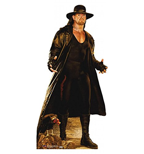 Standee Cut Out Poster - The Undertaker - WWE - Advanced Graphics Life Size Cardboard Standup