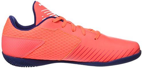 Puma 365 CT Jr, Zapatillas de Fútbol Unisex Niños Naranja (Fiery Coral-white-toreador)