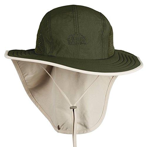 2649219efb2 G4Free Unisex Sun Hat Anti-UV UPF 40+ Fishing Hat Beach Cap ...