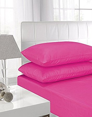 Superb Luxury Fitted Sheets Pillow Covers,Pillow Cases ,percale Pillow Cover,  Polycotton Single ,
