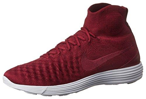 Nike Menn Måne Magista Ii Flyknit (laget Rød / Lag Rød-teamet Rød-hvit) Laget Rød / Lag Rød-teamet Rød-hvit