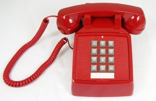 Classic Landline Princess Red Home Desk Phones