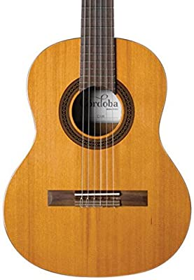 Cordoba Requinto 580 1/2 Size Acoustic Nylon String Classical Guitar,