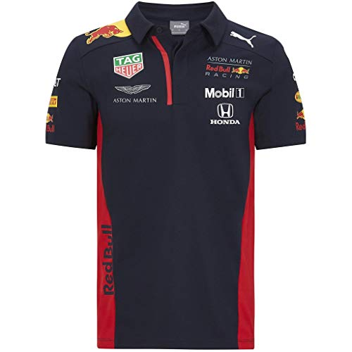 Formula 1 Youth 2020 Team Polo Scuderia Ferrari, Red, Youth Small (8)