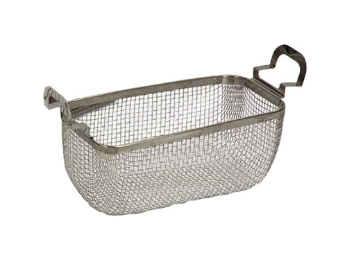 Branson 100-916-333 Stainless Steel Mesh Basket for Model 1800 Bransonic Ultrasonic Cleaners, 1/4