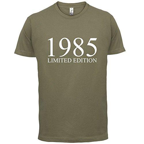 1985 Limierte Auflage / Limited Edition - 32. Geburtstag - Herren T-Shirt - Khaki - M