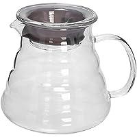 "MIBRU Coffee Server V60""Clear"" Heat Resistant Glass Range Coffee Server | Pour Over Coffee Tea Server | Hand Drip Coffee…"