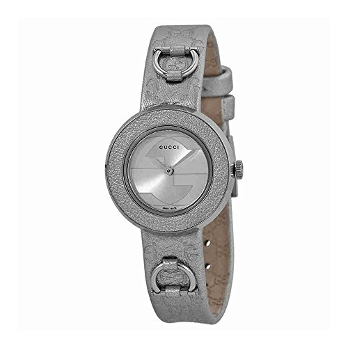 Gucci U-Play Silver-Tone Dial Women's Watch #YA129507