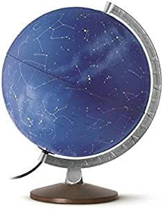 Globe 30cm ILLUMINATED Linea Stellare Stars Constellations Night Sky Globe