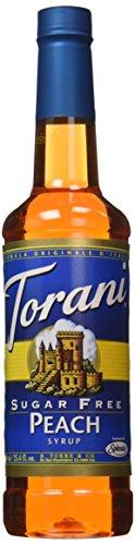 Torani Sugar Syrup Peach Ounce product image