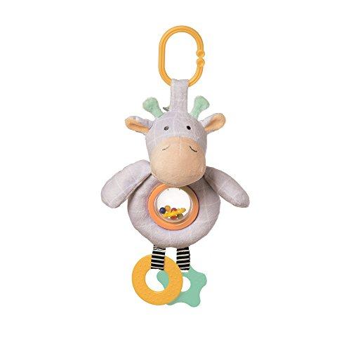 Manhattan Toy Playtime Plush Giraffe Rattle Ball Activity Toy