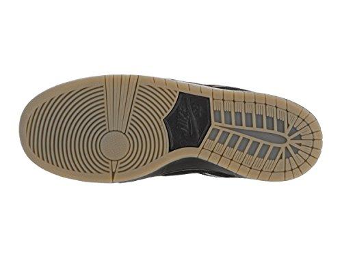 Nike Herren Dunk Low Pro Iw Skaterschuhe Black (Schwarz / Schwarz-Gum Light Brown)
