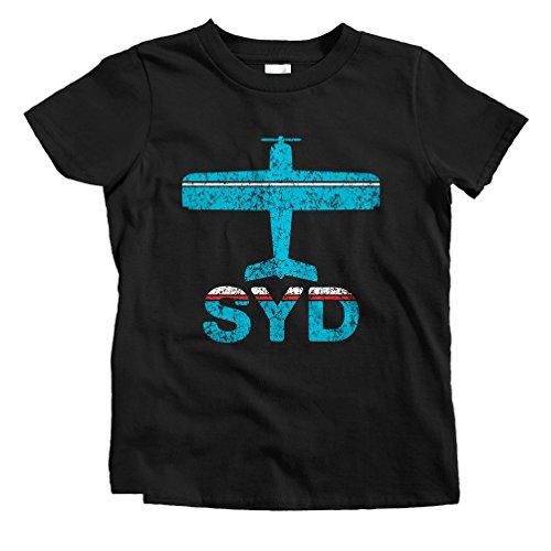 smash-vintage-kids-fly-sydney-syd-airport-t-shirt-black-youth-medium