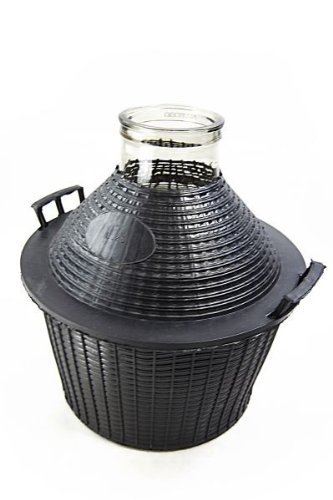 Demijohn / Glass Carboy 25 liters, wide-mouth