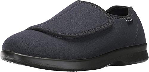 Propet Men's Cush N Foot Shoe,Black,13 5E US