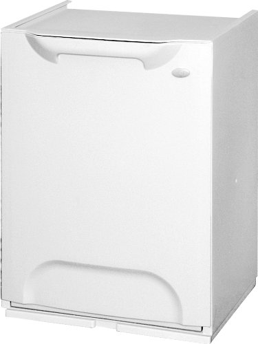 Art Plast R34 - Cubo dereciclaje de plástico apilable, color blanco Duett