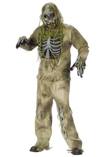 (Skeleton Zombie Costume - ST)