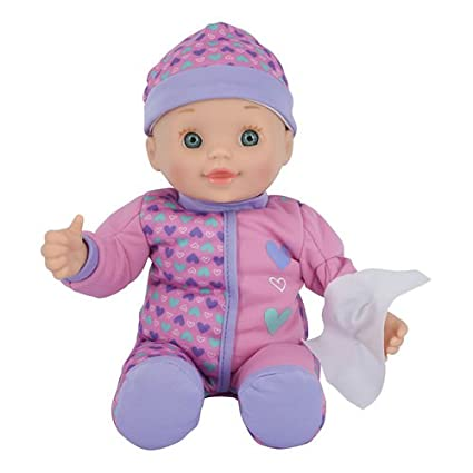 Amazon Com Toys R Us You Me 12 Inch All Better Baby Doll Blue