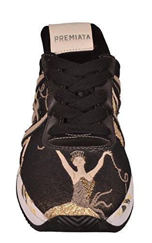 PREMIATA Sneakers Liz Scarpa Donna Nero Oro Liz 2999