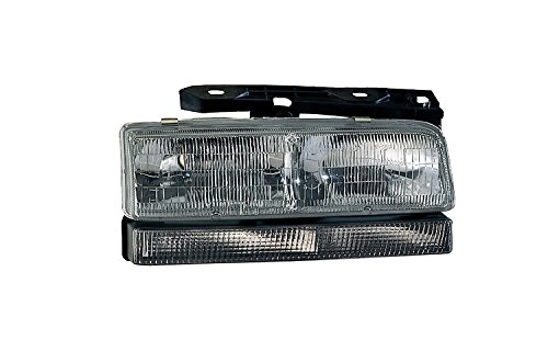 Depo 332-1148L-FSUN Buick LeSabre/Park Avenue Driver Side Replacement Headlight Assembly with Corner Light