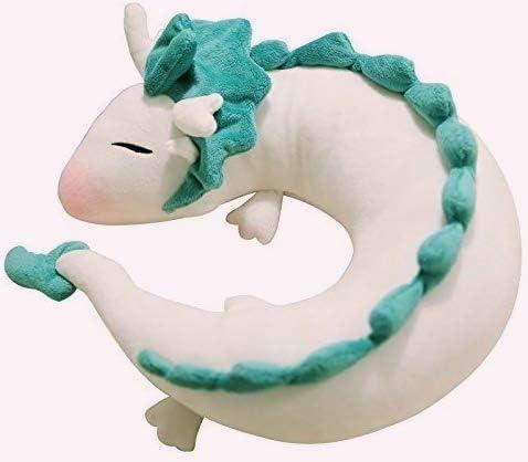 U-shape pillow Cute Little White Dragon U-Shaped Pillow Neck Pillow Japanese Animation