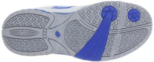 Lotto Sport RAPTOR ULTRA IV JR Q3998 - Zapatillas de tenis de caucho para niño Blanco (Weiß (WHITE/BLUE))