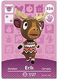 No.334 Erik Animal Crossing Villager Cards Series