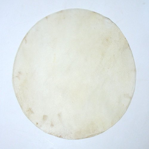 Doumbek Goat Skin Drum Head, Goatskin 18 Inch Round From Pakistan by Hawkdancing Studio