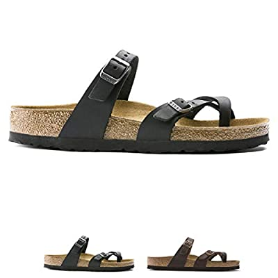 Womens Birkenstock Mayari Strappy Oiled Leather Fashion Summer Sandals