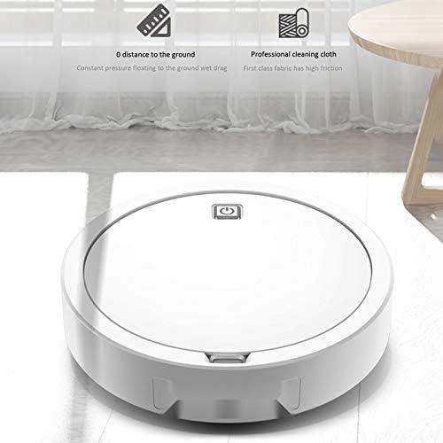 LSXLSD ABRA-USB de Charge Aspirateur Intelligent Robot Lazy sans Fil Balayer Aspirateur Robots Tapis Nettoyage des ménages Machin (Color : White) White